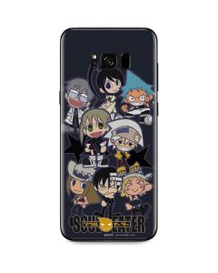 Soul Eater Characters Galaxy S8 Plus Skin