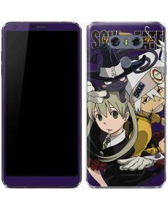 Soul Eater Purple LG G6 Skin