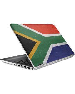 South Africa Flag Distressed HP Pavilion Skin