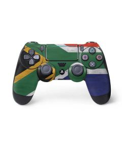 South Africa Flag Distressed PS4 Pro/Slim Controller Skin