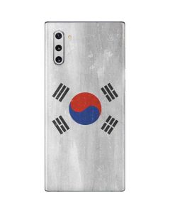South Korean Flag Distressed Galaxy Note 10 Skin