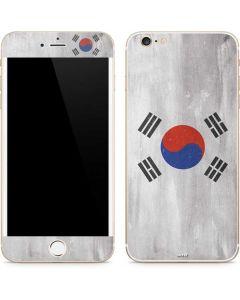 South Korean Flag Distressed iPhone 6/6s Plus Skin