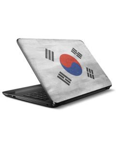 South Korean Flag Distressed HP Notebook Skin