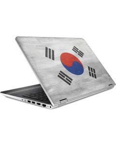 South Korean Flag Distressed HP Pavilion Skin