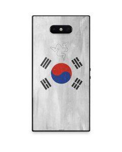 South Korean Flag Distressed Razer Phone 2 Skin