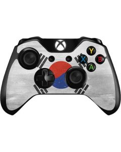 South Korean Flag Distressed Xbox One Controller Skin