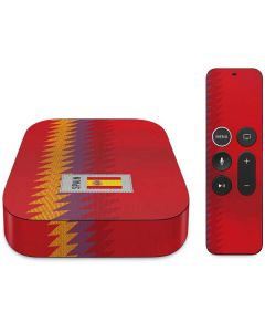 Spain Soccer Flag Apple TV Skin