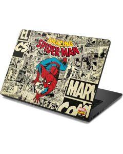 Amazing Spider-Man Comic Dell Chromebook Skin