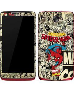 Amazing Spider-Man Comic Motorola Droid Skin