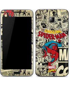 Amazing Spider-Man Comic Galaxy J3 Skin