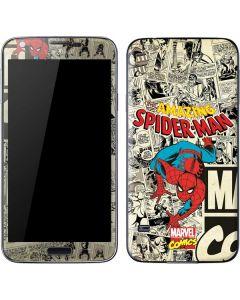 Amazing Spider-Man Comic Galaxy S5 Skin