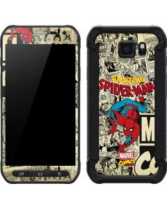 Amazing Spider-Man Comic Galaxy S6 Active Skin