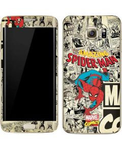 Amazing Spider-Man Comic Galaxy S7 Edge Skin