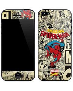 Amazing Spider-Man Comic iPhone 5/5s/SE Skin