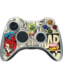 Amazing Spider-Man Comic Xbox 360 Wireless Controller Skin