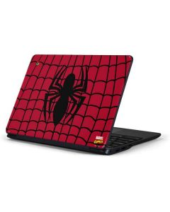 Spider-Man Chest Logo Samsung Chromebook Skin