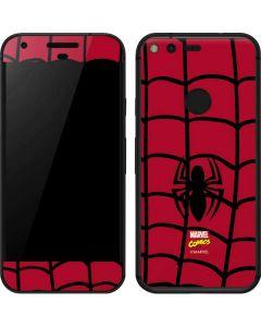 Spider-Man Chest Logo Google Pixel Skin