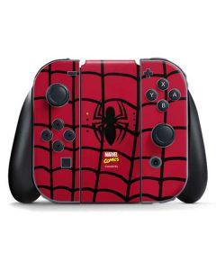 Spider-Man Chest Logo Nintendo Switch Joy Con Controller Skin