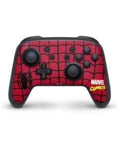 Spider-Man Chest Logo Nintendo Switch Pro Controller Skin