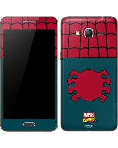 Spider-Man Close-Up Logo Galaxy Grand Prime Skin
