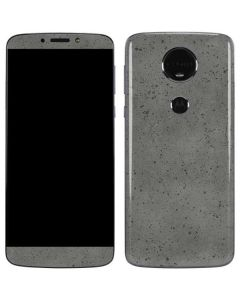 Speckle Grey Concrete Moto E5 Plus Skin