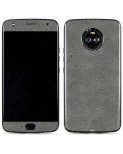 Speckle Grey Concrete Moto X4 Skin