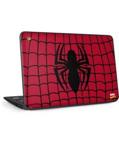 Spider-Man Chest Logo HP Chromebook Skin