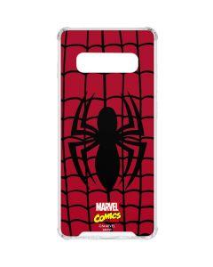 Spider-Man Chest Logo Galaxy S10 Clear Case