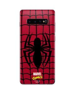 Spider-Man Chest Logo Galaxy S10 Plus Skin