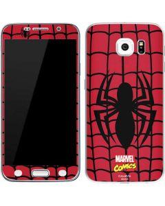 Spider-Man Chest Logo Galaxy S6 Skin
