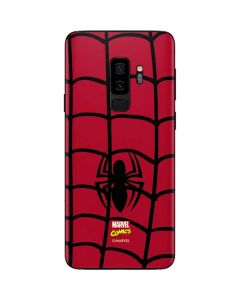 Spider-Man Chest Logo Galaxy S9 Plus Skin