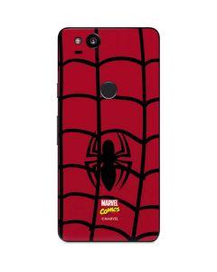 Spider-Man Chest Logo Google Pixel 2 Skin