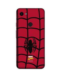 Spider-Man Chest Logo Google Pixel 3a Skin