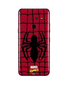 Spider-Man Chest Logo LG G8 ThinQ Skin