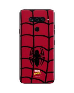 Spider-Man Chest Logo LG V40 ThinQ Skin