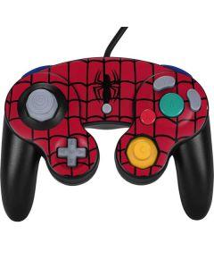 Spider-Man Chest Logo Nintendo GameCube Controller Skin