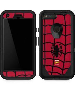 Spider-Man Chest Logo Otterbox Defender Pixel Skin
