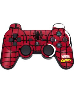 Spider-Man Chest Logo PS3 Dual Shock wireless controller Skin