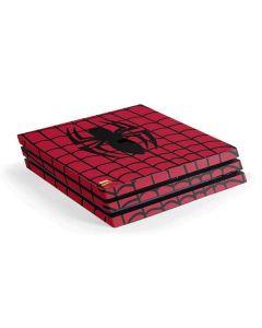 Spider-Man Chest Logo PS4 Pro Console Skin