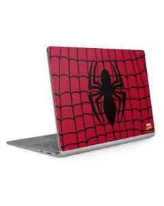 Spider-Man Chest Logo Surface Book 2 13.5in Skin