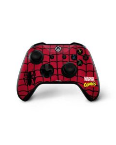 Spider-Man Chest Logo Xbox One X Controller Skin