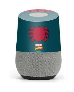 Spider-Man Close-Up Logo Google Home Skin