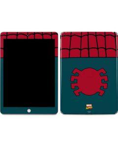 Spider-Man Close-Up Logo Apple iPad Skin