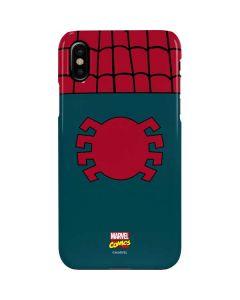 Spider-Man Close-Up Logo iPhone XS Max Lite Case