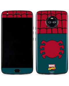 Spider-Man Close-Up Logo Moto X4 Skin