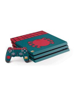 Spider-Man Close-Up Logo PS4 Pro Bundle Skin