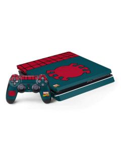 Spider-Man Close-Up Logo PS4 Slim Bundle Skin