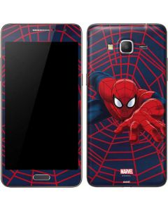 Spider-Man Crawls Galaxy Grand Prime Skin
