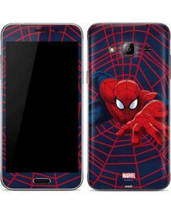 Spider-Man Crawls Galaxy J3 Skin