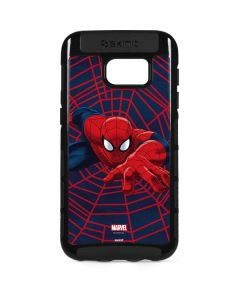 Spider-Man Crawls Galaxy S7 Edge Cargo Case